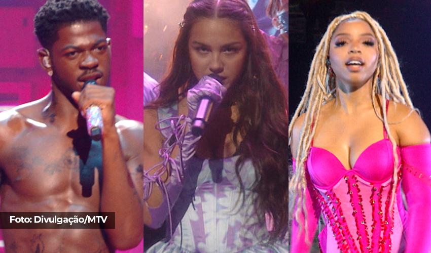 Com Lil Nas X no topo e Shawn Mendes em último, Billboard elege as melhores apresentações do VMA 2021