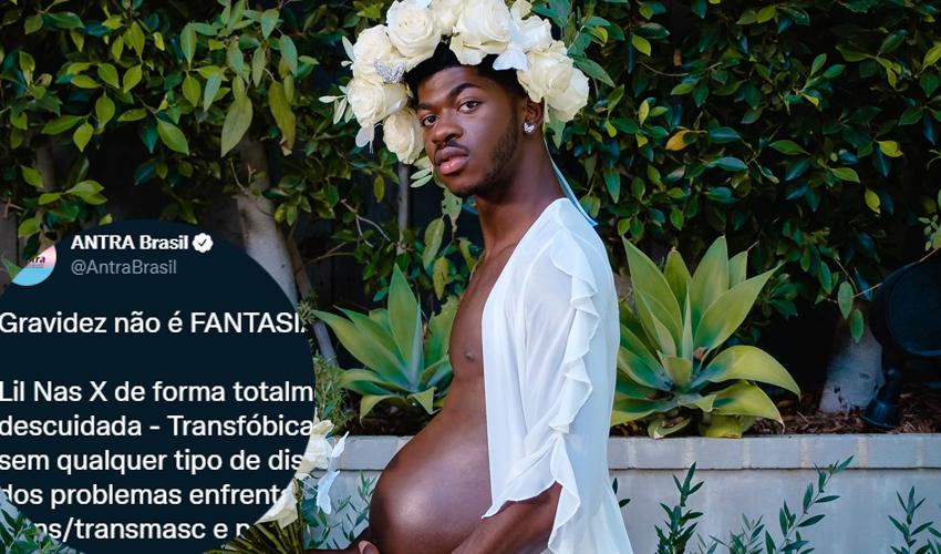 Associação Nacional de Travestis e Transexuais acusa Lil Nas X de transfobia por simular gravidez