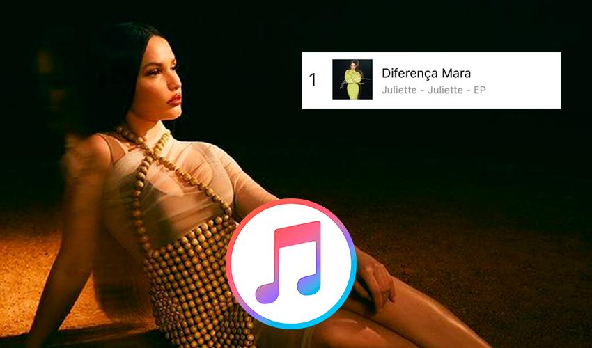 Juliette emplaca TODO o seu EP no top 20 do iTunes Brasil; confira posições