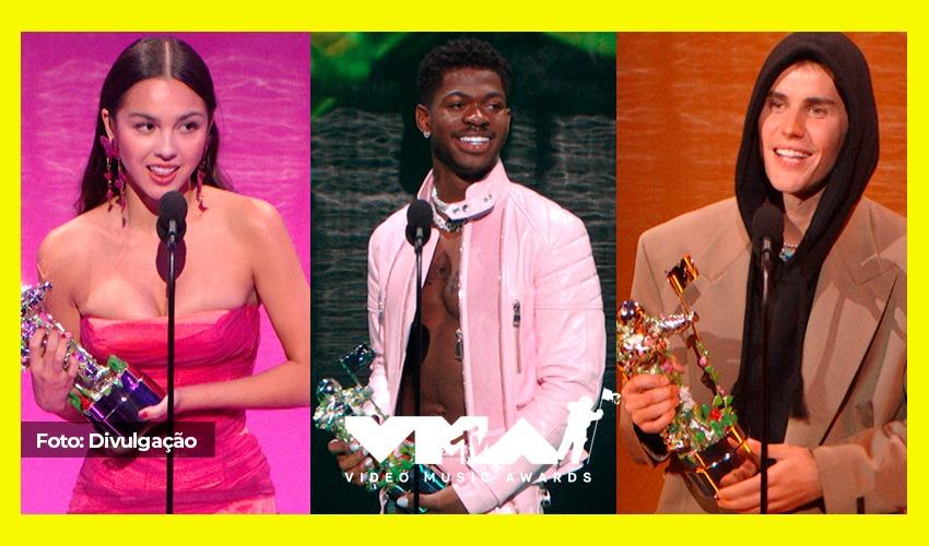 Com Lil Nas X coroado com o grande prêmio da noite, confira os vencedores do VMA 2021