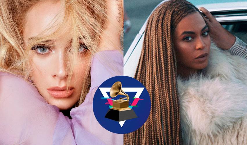 """Em entrevista para a Vogue, Adele fala sobre """"Lemonade"""", de Beyoncé e praticamente chama Grammy de racista"""