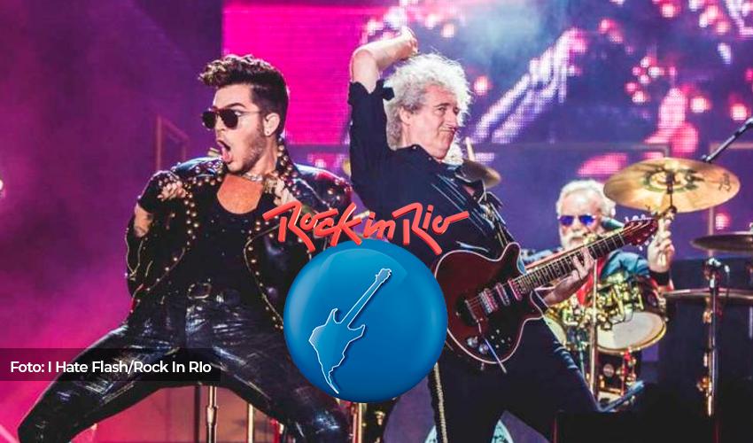 Jornalista afirma que Queen e Adam Lambert estão fora do Rock In Rio 2022