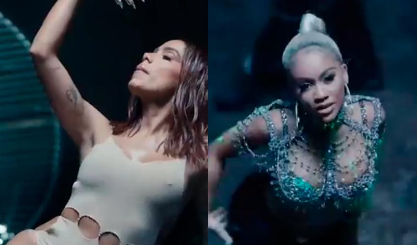 """Com muita coreografia, assista prévia do videoclipe de """"Faking Love"""", de Anitta e Saweetie"""